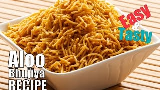 Aloo Bhujiya recipe / Potato Sev recipe