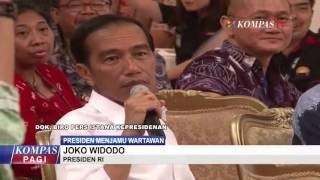 Presiden Jamu Wartawan di Istana