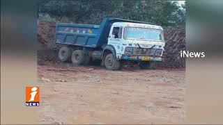 Vigilance Officers Raids On Illegal Soil Excavation In Krishna District | iNews