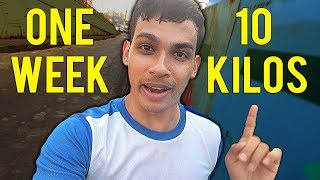 HOW TO LOSE WEIGHT FAST 10Kg in 1 Week
