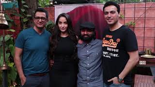 Nora Fatehi, Sanjay Suri & Samir Soni Spotted At Promotion Of My Birthday Song