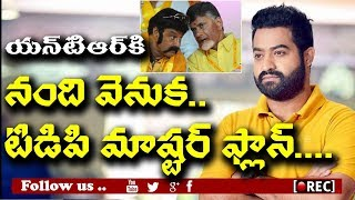 Chandrababu Naidu Plan to invite Jr NTR for 2019 elections I rectv india