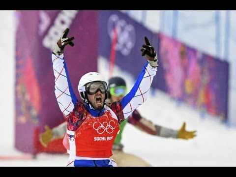 Sochi 2014 Pierre Vaultier of France wins snowboard cross gold News Video
