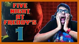 This Game Gave Me A Heart Attack - Five Night At Freddy's - 1 #CTC