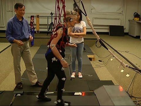 Treadmill 'Trips' May Reduce Falls for Elderly News Video