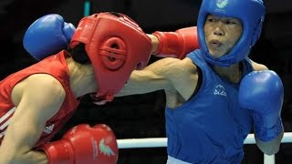 Mary Kom, Sarita Devi Enter Quarterfinals in Asian Olympic Qualifiers - Sports News Video