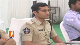 SP Vishal Gunni Awareness On Trafic Rules &Unique QR Code For Auto Drivers In Kakinada | iNews