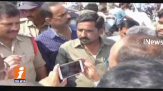 Man Protest With His Kid On Traffic Constable Negligence In Kammareddi | iNews