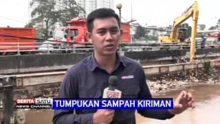 Alat Berat Dikerahkan Bersihkan Sampah di Jembatan Kampugn Melayu