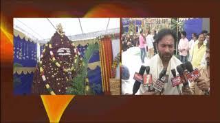 Kishan Reddy Participated in Ayyappa Puja Mahotsavam at Amberpet   iNews
