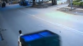 Man hit by mini truck, robbed, left to die