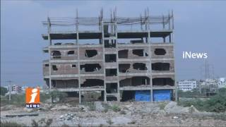 GHMC Implosion Technology Fails | Demolish Illegal Construction at Madapur | Hyderabad | iNews