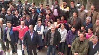 मांगों को लेकर 12 हजार बैंक कर्मियों ने की हड़ताल