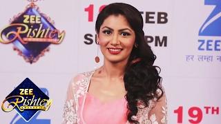 Sriti Jha At ZEE Rishtey Awards 2017