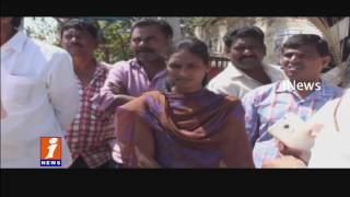 Women Conductor Sravanthi Protest at Vemulawada Bus Depot Over Employ Sexual Harassment | iNews