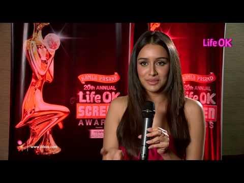 Moments Of Joy - Shraddha Kapoor - Life OK Screen Award 2014