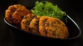 Bhaji Vada recipe or palak pakora recipe