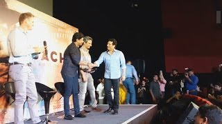 Sachin Tendulkar's GRAND ENTRY At Sachin A Billion Dreams Trailer Launch