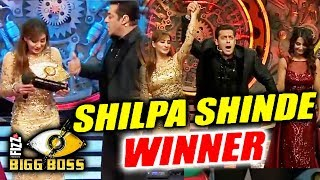 Shilpa Shinde DECLARED WINNER Of Bigg Boss 11 | Bigg Boss 11 Finale