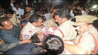 Ponnam's Hunger Strike Stopped, Police Held Congress Leader Ponnam Prabhakar   iNews