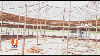 Huge Arrangements For Ayutha Maha Vishnu Maha Yagam At Yadadri Temple | iNews