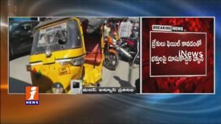 Brake Fail Van Kills 1 Man, 6 Injured in Tirupati | 4 Autos & 6 two wheelers Collapsed | iNews
