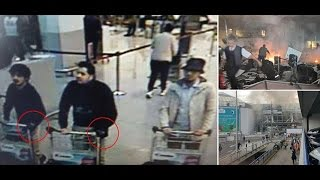 NEW !! FIRST FOOTAGE BEFORE & AFTER Brussels Train Station and Brussels airport (RAW VIDEO)