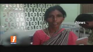 Auto Driver Rape Attempted On 7th Class Girl | Girl Escaped From Running Auto | Khammam | iNews