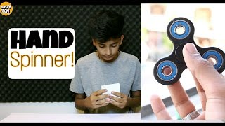 Hand Spinner A crazy product! Unboxing l Uses l Price In India l Some channel updates!