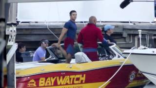 Dwayne 'The Rock' Johnson and Zac Efron Start Filming Baywatch