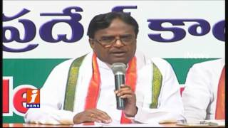 Ponnala Lakshmaiah Fires On KCR Over Unemployment In Telangana | iNews