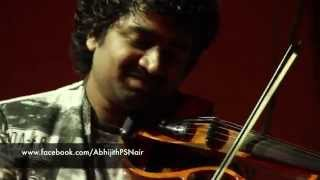 'Uyire + Tamizha' Abhijith P S Nair and Band Violin Fusion Live
