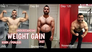 Understanding WEIGHT GAIN BULKING DIET! (Hindi / Punjabi) video - id  301892987934 - Veblr Mobile