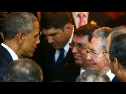 Obama-Castro talks expected as Americas summit resumes News Video