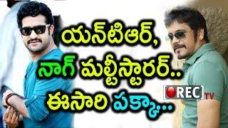 Jr Ntr To Do Multistarrer Movie With Akkineni Nagarjuna | Tollywood Film News | Rectv India