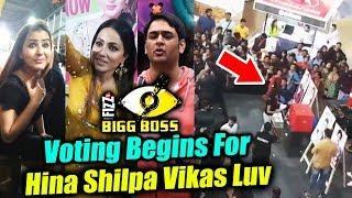 Voting Begins In Inorbit Mall For Shilpa, Hina, Vikas Luv | BB Mall Task | Bigg Boss 11