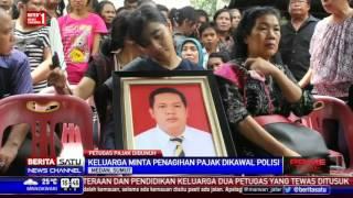 Isak Tangis Sambut Kedatangan Jenazah Petugas Pajak di Medan