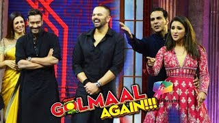 Ajay Devgn PROMOTES Golmaal Again On Akshay's The Great Indian Laughter Challenge