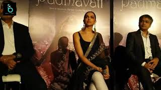 Deepika Padukone Shocking Reaction On Controversy With Karni Sena - Padmavati Trailer 3D
