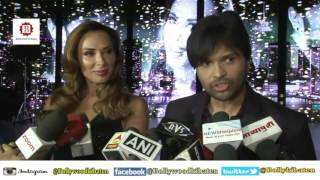 Himesh Reshammiya & Iulia Vântur At On Location Song Shoot