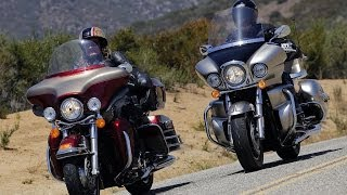 Harley-Davidson Electra Glide vs Kawasaki Vulcan