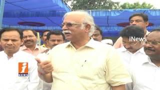 Ashok Gajapathi Raju Responds on JC Diwakar Reddy Ruckus at Visakhapatnam Airport | iNews