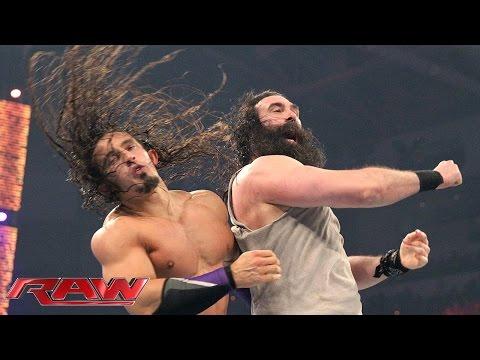 Neville vs. Luke Harper - King of the Ring First Round Match- Raw, April 27, 2015 - WWE Wrestling Video