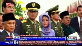 Akom Jalin Komunikasi dengan Tommy Soeharto