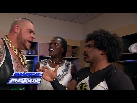 A backstage confrontation occurs between Brodus Clay and Xavier Woods: SmackDown, November 29, 2013 -WWE Wrestling Video