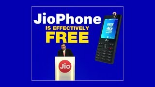 Reliance AGM 2017- 'Free' JioPhone, TV cable and more | Key Highlights