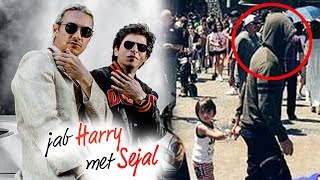 Shahrukh's Phurrr Song First Look - Jab Harry Met Sejal, Shahrukh HIDES Face With Abram In USA