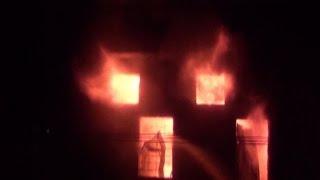 रबड़ फैक्ट्री में लगी भयंकर आग