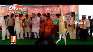 Amith Shah and National BJP Leaders Sketch To Strengthen Party in Telugu States   Loguttu   iNews