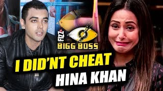 Luv Tyagi On Ditching Hina Khan Towards End Of Bigg Boss 11 Finale